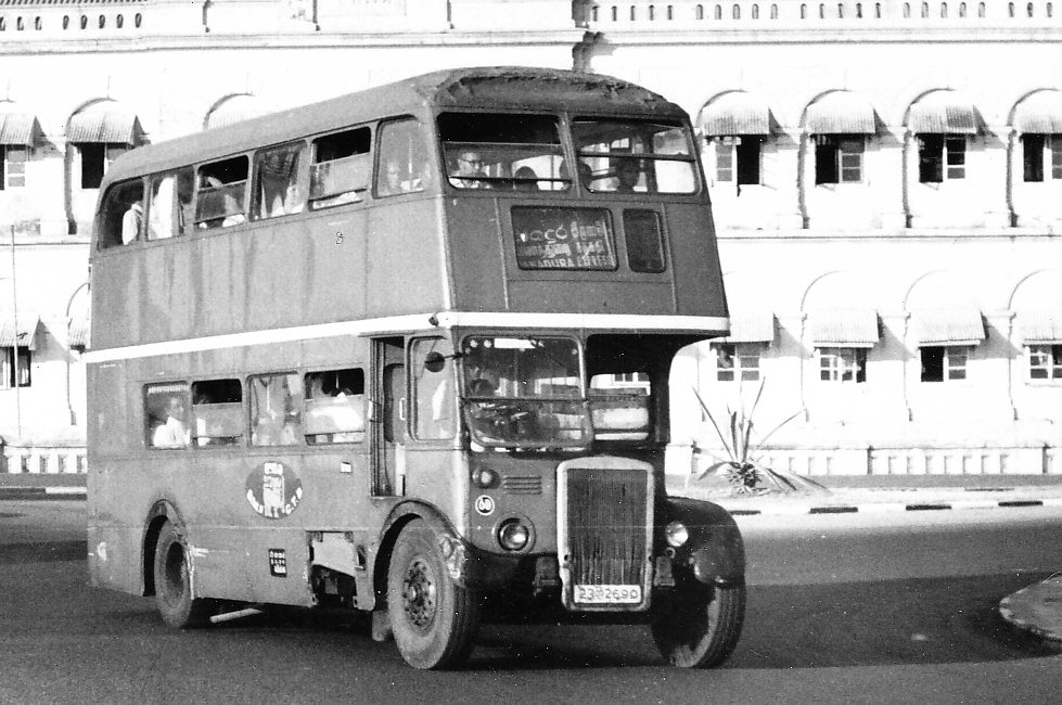 Old Double Deck Bus