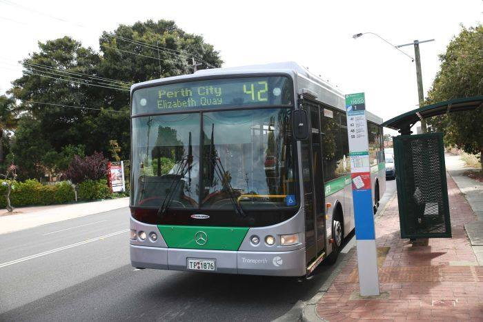 Bus in Perth