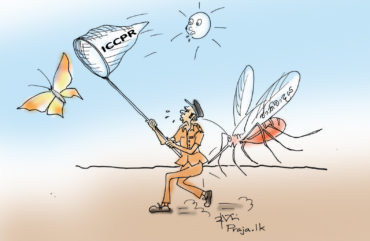 Cartoon on ICCPR Act by Ajith Perakum Jayasinghe