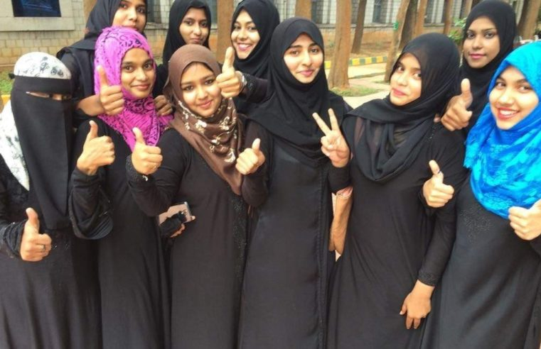 Indian women celebrating the abolishing of triple talaq