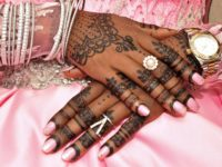 Hands of a Muslim Bride