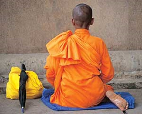 Female Buddhist monk