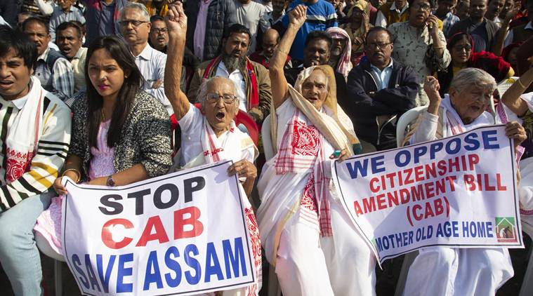 Stop CAB protest