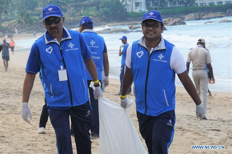 Beach Clean-up by Port City Colombo CSR