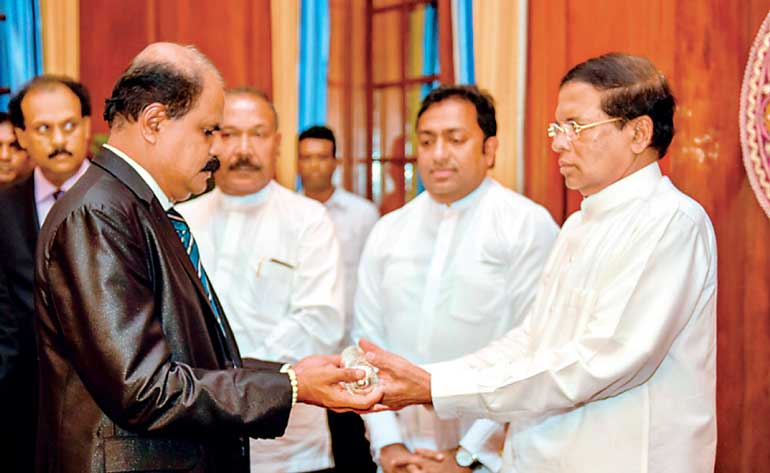 Maithripala Sirisena grants appointment to his brother as SLT chairman