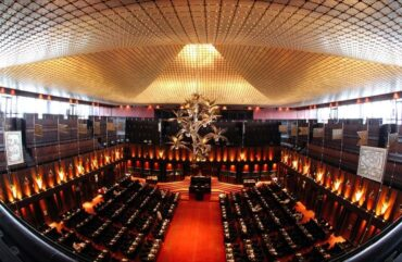Chamber of Sri Lanka parliament
