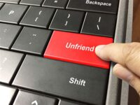 unfriend button